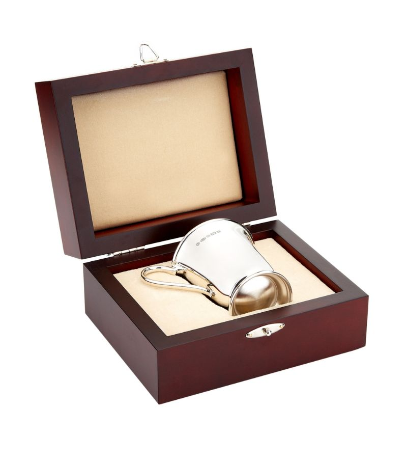 Carrs Silver Sterling Silver Child'S Cup In Presentation Case