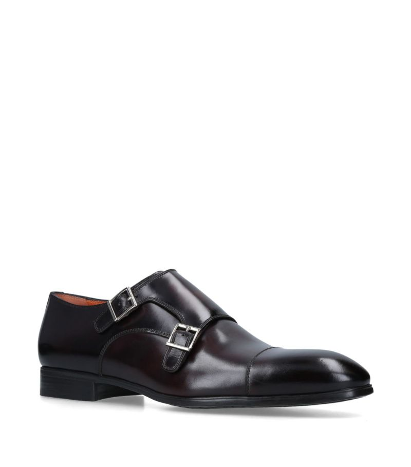 Santoni Simon Double Monk Shoes