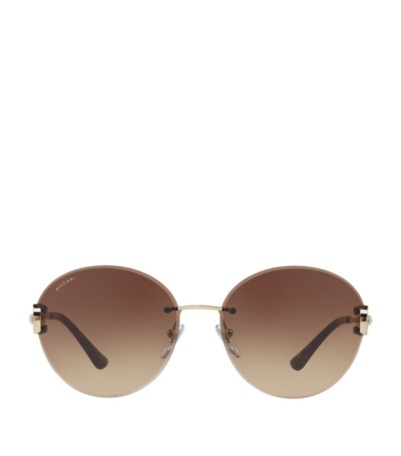 Bvlgari Round Sunglasses