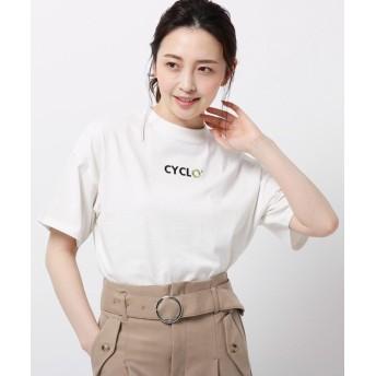 THE SHOP TK(Women)(ザ ショップ ティーケー(ウィメン)) 【洗濯機可】【CYCLO】クルーネックTシャツ