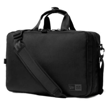 NEW ERA ニューエラ 11901527 ビジネスコレクション スリーウェイ ブリーフバッグ 18L ブラック【Sx】(ワンサイズ ブラック)