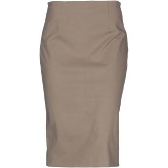 《セール開催中》SONIA SPECIALE レディース 7分丈スカート カーキ 46 コットン 93% / ポリウレタン 7%