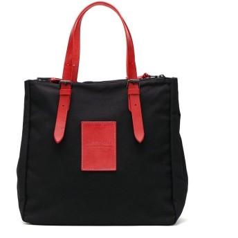 (BAGGY PORT/バギーポート)バギーポート トートバッグ BAGGY PORT A4 台形 鞄 BLACK ブラック 本革 カジュアル 通勤 ビジネス ブランド 帆布 YNM-410N/ユニセックス レッド