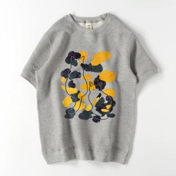 スウエットTシャツ_三毛猫