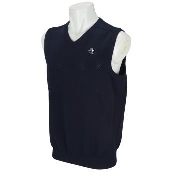 dポイントが貯まる・使える通販| マンシングウェア Munsingwear E-AIRニットベスト 3L ネイビー 00 【dショッピング】 セーター・トレーナー・ベスト おすすめ価格