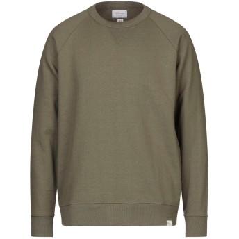 《セール開催中》RO ROGER'S メンズ スウェットシャツ ミリタリーグリーン S コットン 88% / ポリエステル 12%