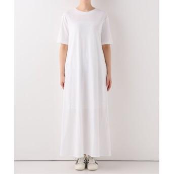 AP STUDIO 【CINOH/チノ】Tシャツドレス ホワイト フリー