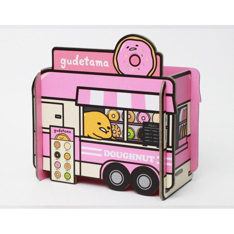 研達 - 蛋黃哥餐車造型置物架 - 2 入組