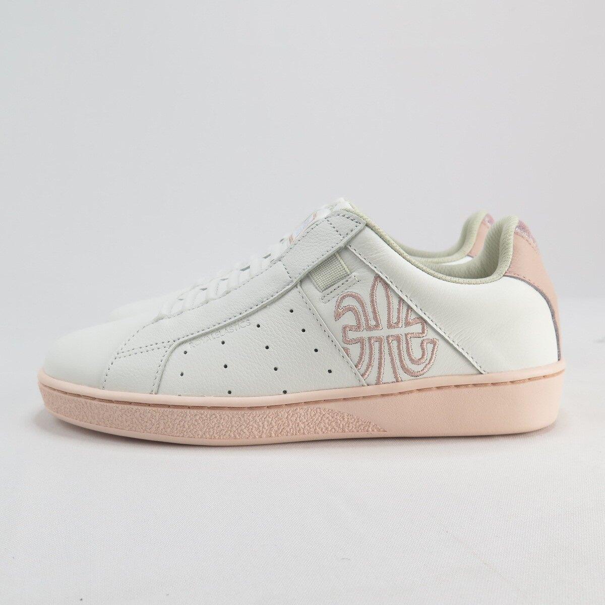 【滿額領券折$150】Royal GENESIS 無鞋帶 女款 休閒鞋 公司貨 91901010 白X粉【iSport愛運動】