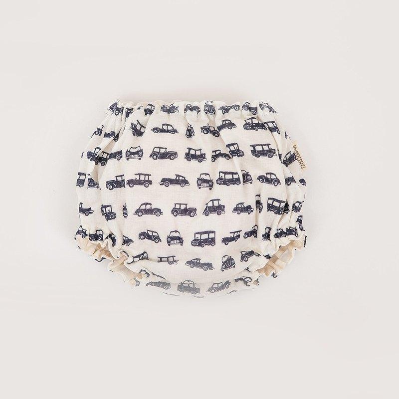 日本製 BEBE 紗布運動褲 英倫古董車