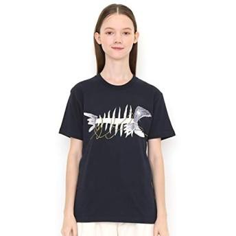 グラニフ(graniph) 【ユニセックス】コラボレーションTシャツ/ホネ(11ぴきのねこ)【200ネイビー/S】