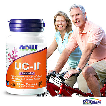 NOW健而婷 UC-II二型膠原蛋白(60顆/瓶)三瓶組