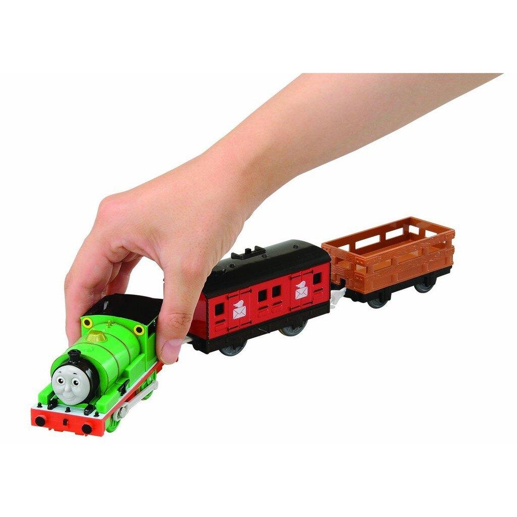 【預購】Plarail Takara Tomy 湯瑪士小火車 電動軌道火車系列 培西 汽笛聲 音效 會說話 鐵道王國 OT-02【星野日本玩具】