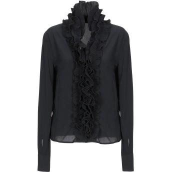 《セール開催中》LADY CHOCOPIE レディース シャツ ブラック 44 ポリエステル 100%