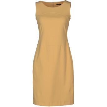 《セール開催中》PESERICO レディース ミニワンピース&ドレス サンド 42 コットン 80% / ポリウレタン 20%