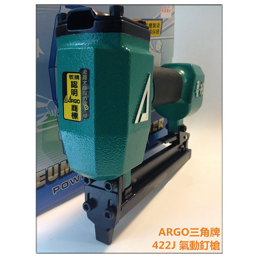 台灣木工界最夯 正廠ARGO 三角牌 422J 氣動釘槍 順化貿易