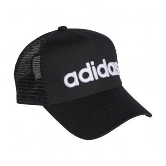 アディダス キャップ リニアトラッカーキャップ ED0316 帽子 : ブラック×ホワイト adidas