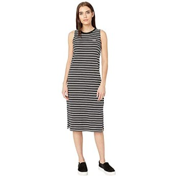 [VANS(バンズ)] ドレス・ワンピース Mini Check Midi Dress Black M [並行輸入品]
