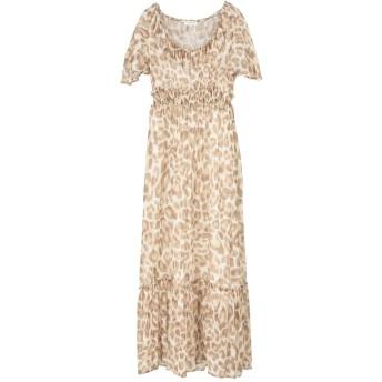 《セール開催中》ANNA RACHELE RESORT レディース ロングワンピース&ドレス ベージュ 42 100% レーヨン