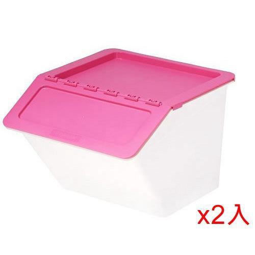 【2件超值組】樹德SHUTER 家用整理箱 MHB3741-粉色(【愛買】