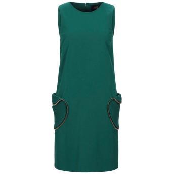《セール開催中》CAVALLI CLASS レディース ミニワンピース&ドレス グリーン 40 レーヨン 69% / ナイロン 25% / ポリウレタン 6%