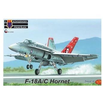 1/72 F-18A/C ホーネット プラモデル[KP Models]《03月予約》