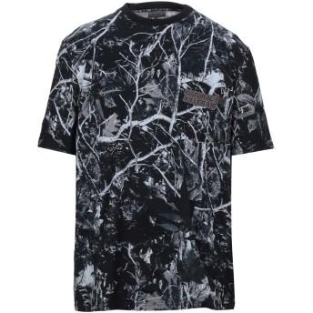 《セール開催中》LANVIN メンズ T シャツ ダークブルー S コットン 100% / ポリエステル