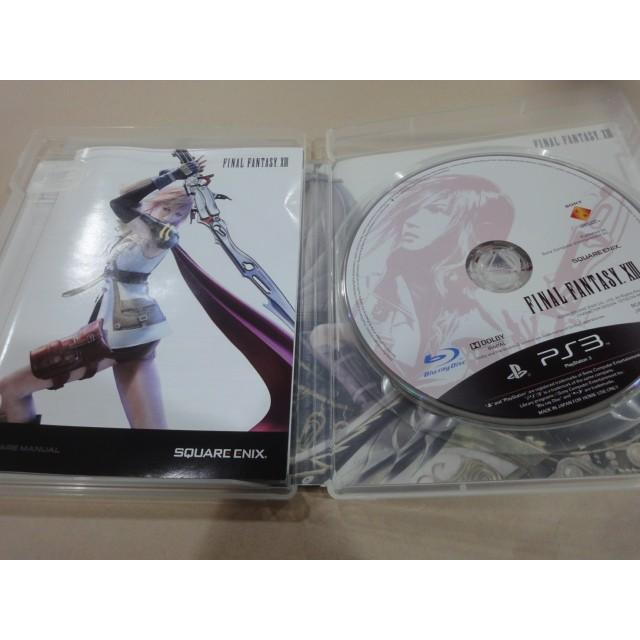 二手良品~* PS3 太空戰士13 太空戰士 13 FF13 日文 亞版 Final Fantasy XIII