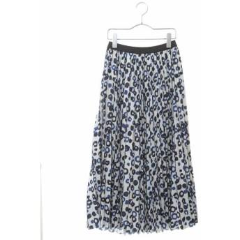 HIROKO BIS/ヒロコビス 【洗える】ランダムドットプリーツスカート ブルー 09