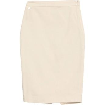 《セール開催中》MANILA GRACE レディース ひざ丈スカート アイボリー 38 コットン 98% / ポリウレタン 2%