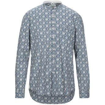 《セール開催中》ALLEY DOCKS 963 メンズ シャツ ダークブルー XL コットン 100%