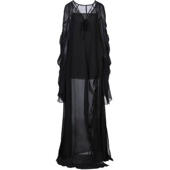 《セール開催中》VERA WANG レディース ロングワンピース&ドレス ブラック 2 ポリエステル 100%
