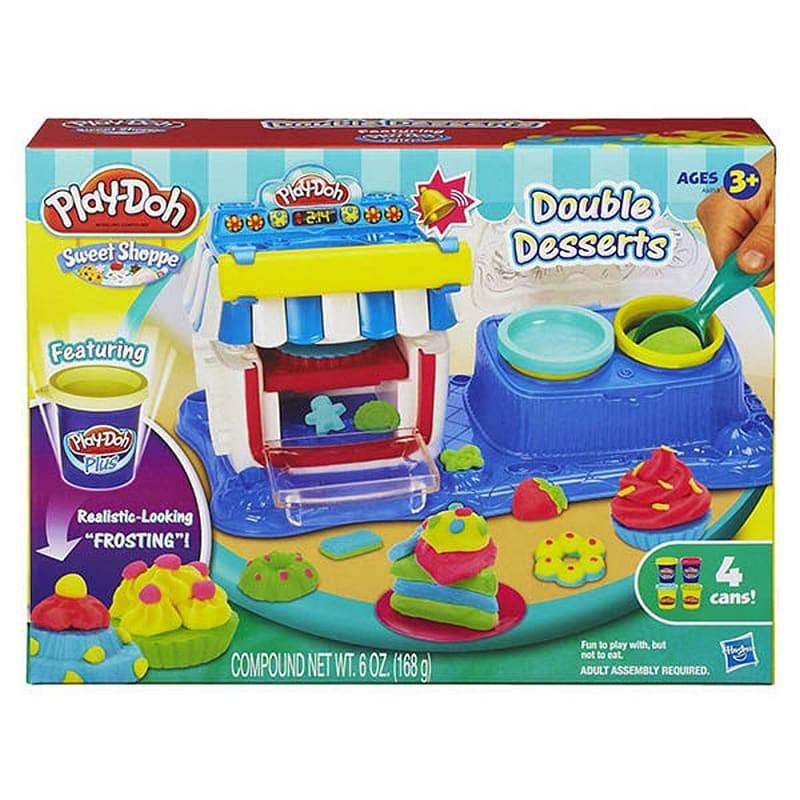【培樂多Play-Doh】雙重甜點遊戲組 653569870470【童書繪本】