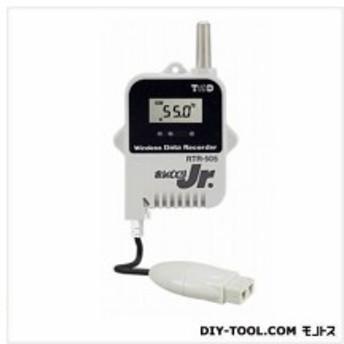 ティアンドデイ 小型データロガー/子機・温度1CH/熱電対 H 62 mm x W 47mm x D 19 mm、アンテナ長 24 mm RTR-505-TC 1台