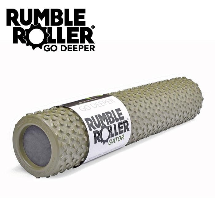 Rumble Roller 揉壓按摩滾輪 狼牙棒 Gator 鱷皮系列 56cm 代理商貨 正品 送厚底襪