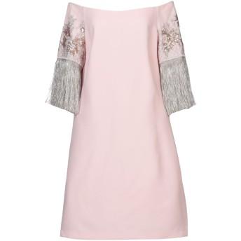 《セール開催中》SPELL by ACCESS FASHION レディース ミニワンピース&ドレス ピンク M ポリエステル 100%