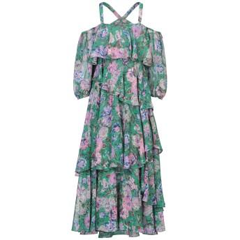 《セール開催中》MISS SIXTY レディース ロングワンピース&ドレス グリーン XS ポリエステル 100%