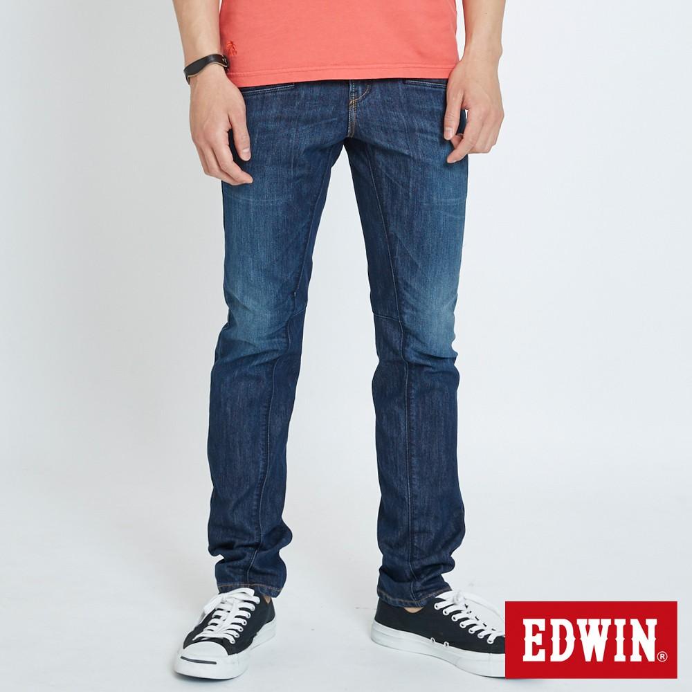 EDWIN E-F3片機能小直筒褲(中古藍)-男款
