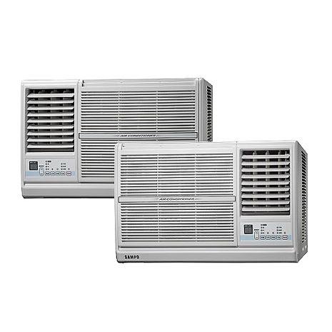聲寶10坪定頻右吹窗型冷氣 AW-PC63R(含標準安裝)左吹