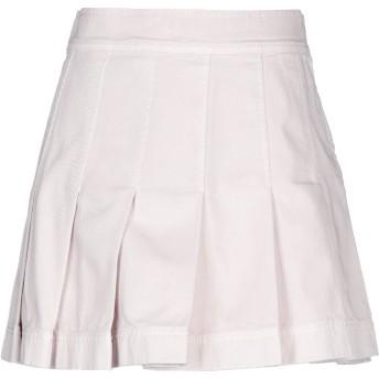 《セール開催中》VALENTINO レディース デニムスカート ピンク 38 コットン 100% / 羊革(ラムスキン)