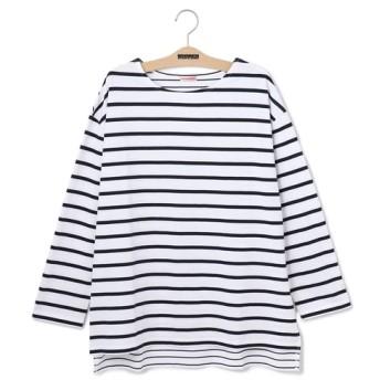 【ベンシモン/BENSIMON】 ボーダーロングTシャツ