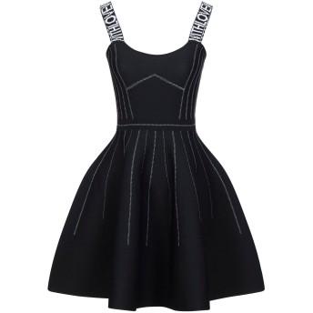 《セール開催中》MAJE レディース ミニワンピース&ドレス ブラック 4 ポリエステル 100%