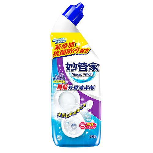 妙管家中性浴廁清潔劑-薰衣草香-750g
