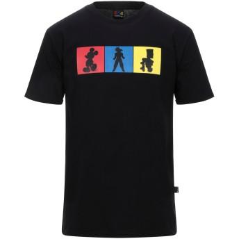 《セール開催中》654 CLOTHING メンズ T シャツ ブラック S コットン 100%