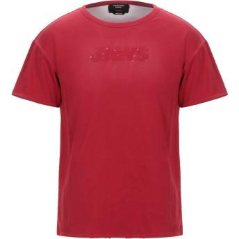 《セール開催中》CALVIN KLEIN 205W39NYC メンズ T シャツ レッド S コットン 100%