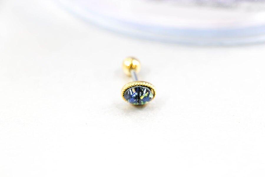 永恆之星鋼針貼耳耳環(單支耳釘) ~夏綠蒂didi-shop