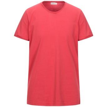 《セール開催中》BECOME メンズ T シャツ レッド XL コットン 100%