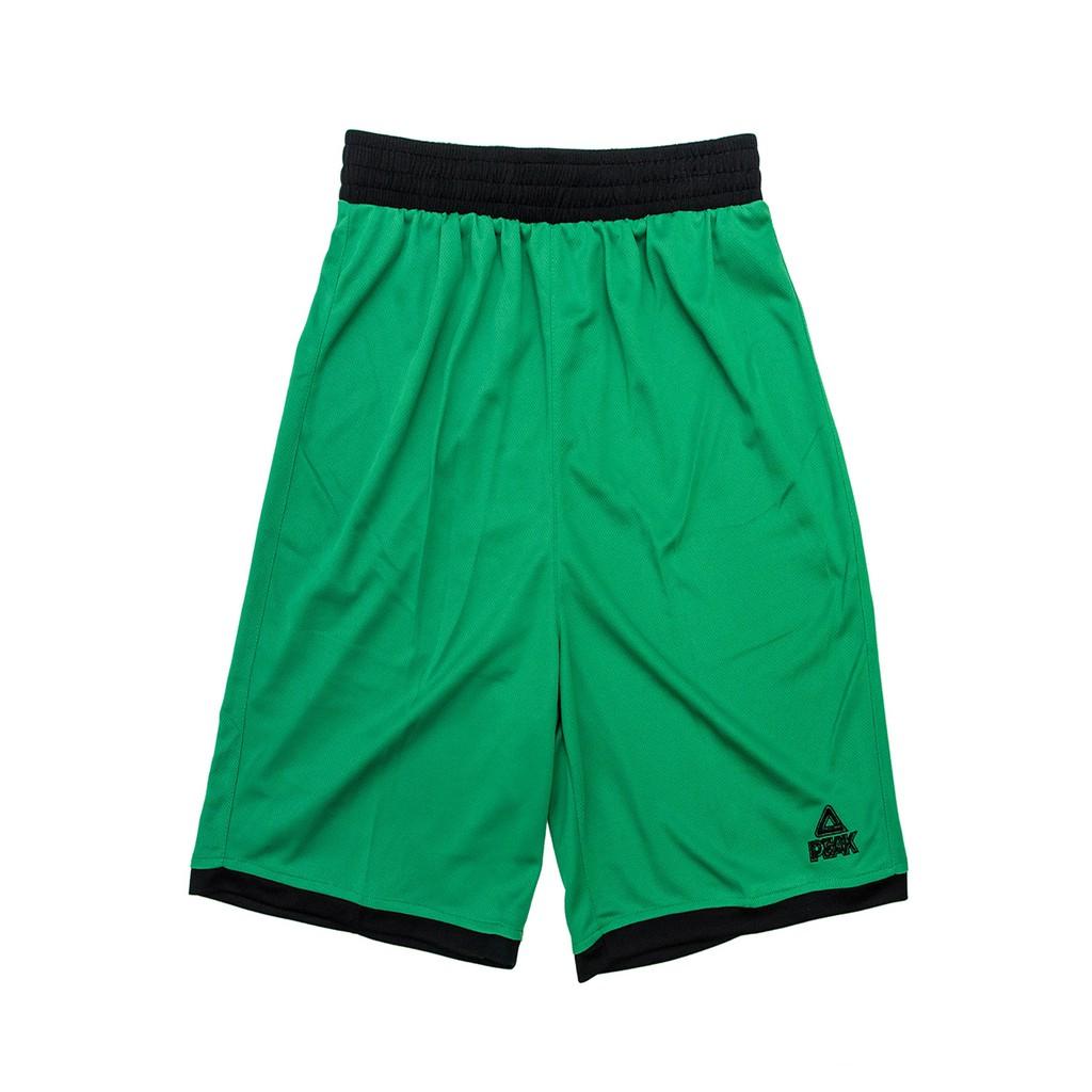 PEAK 籃球球褲 F771107 綠色/黑邊 亮禹體育PEAK台灣經銷商