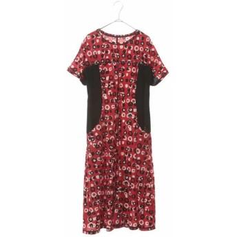 HIROKO BIS/ヒロコビス 【洗濯機で洗える】ランダムドットプリントドレス レッド 11