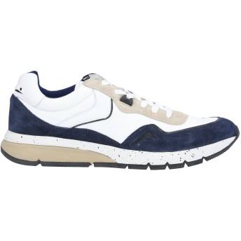《セール開催中》VOILE BLANCHE メンズ スニーカー&テニスシューズ(ローカット) ホワイト 39 革 / 紡績繊維